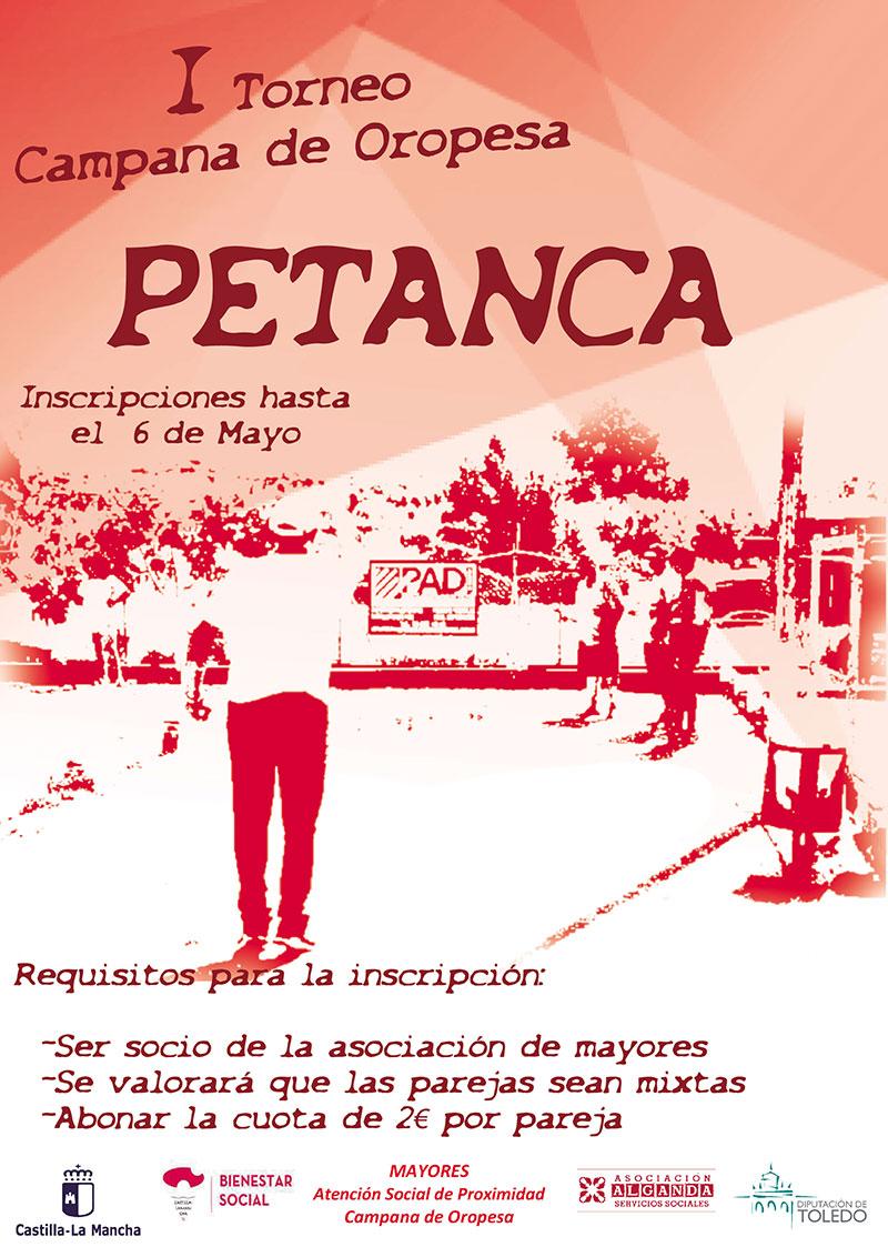I Campeonato de Petanca Campana de Oropesa
